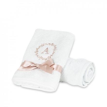 White Soft towel  (80 x 35 cm)