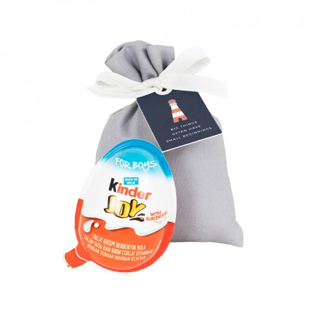 Kinder Egg in a Pouch